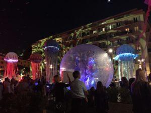 Parade des méduses