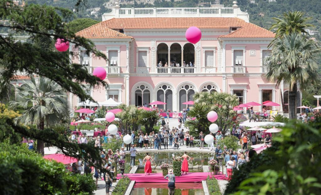 La fête de la Rose la Villa Ephrussi de Rothschild