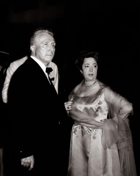 Photo Aimé et Marguerite Inauguration FM 1964 Archives FM