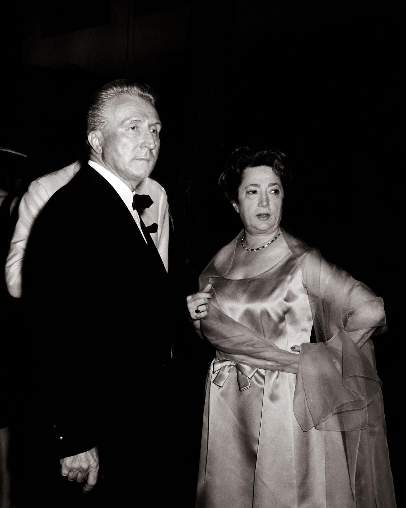Aimé et Marguerite Inauguration FM 1964 Archives FM