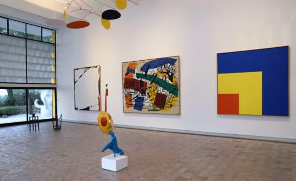 Vue de l'exposition L'esprit d'une collection les donations