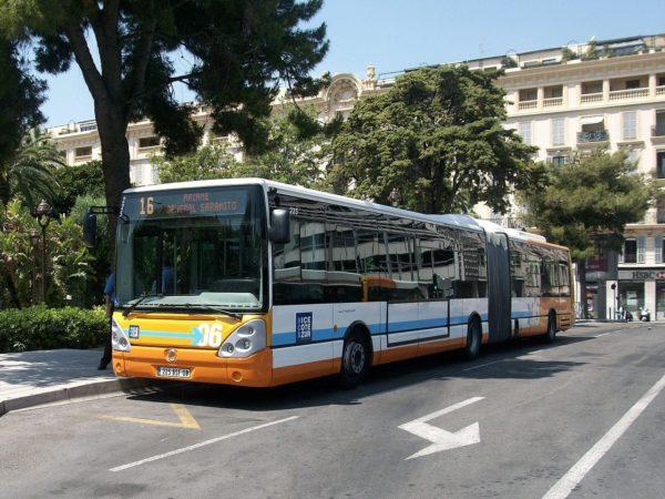 Bus Nice Lignes d'Azur