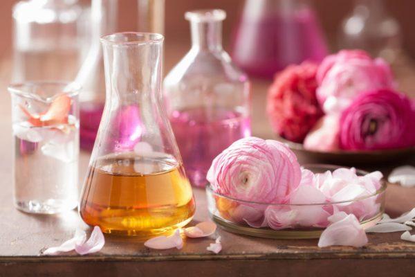 Création de parfum au sein de la parfumerie
