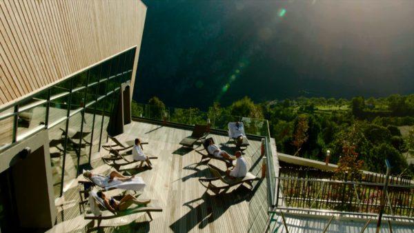 ROQUEBILLIERE Berthemonts les bains - Roquebilière thermales Pure Montagne