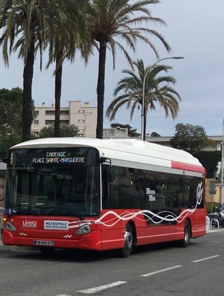 Bus électrique Lignes d'Azur