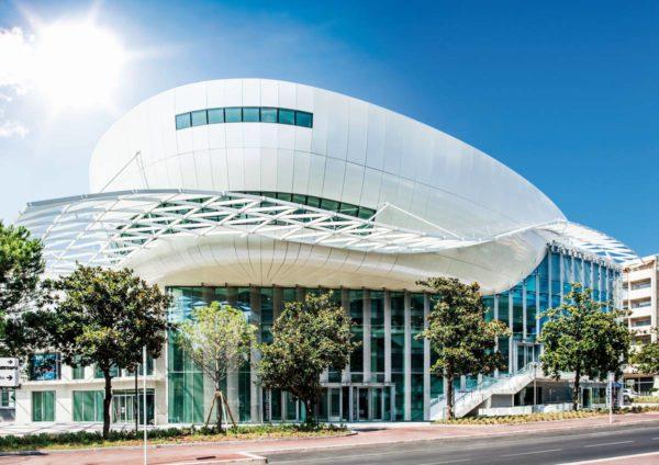Palais des Congrès, Juan les Pins, CORALIE POLACK, office du tourisme et des congrès