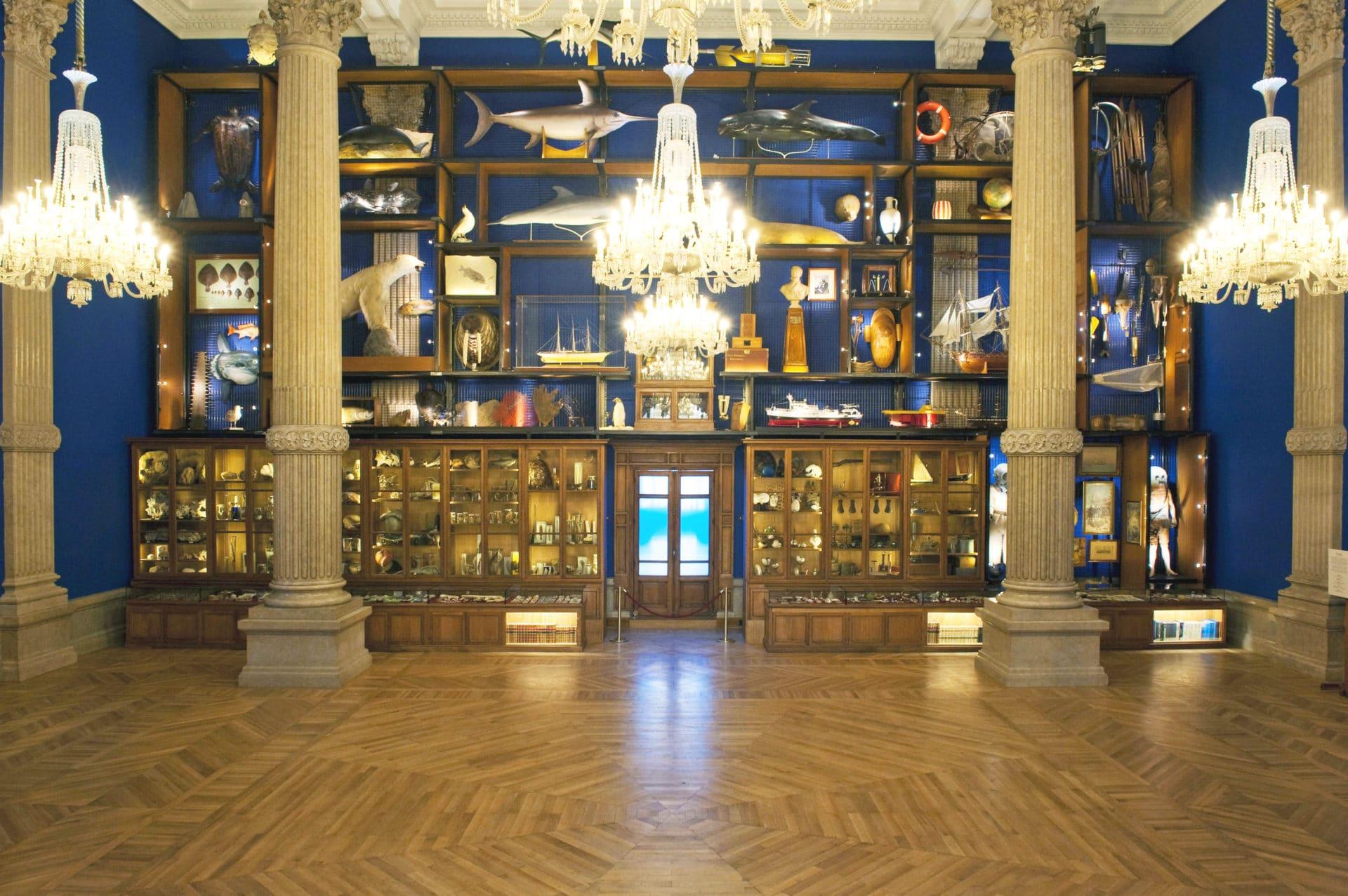 Cabinet Océanomania © M. Dagnino - Musée océanographique
