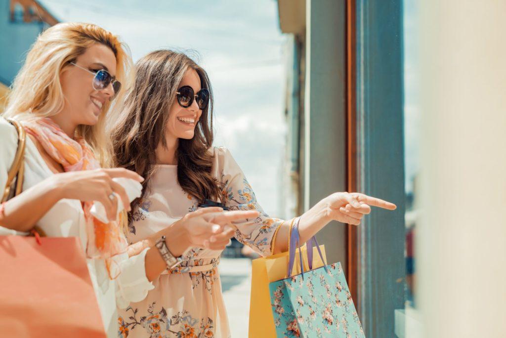 Aparté Shopping à Nicetoile pour les filles !