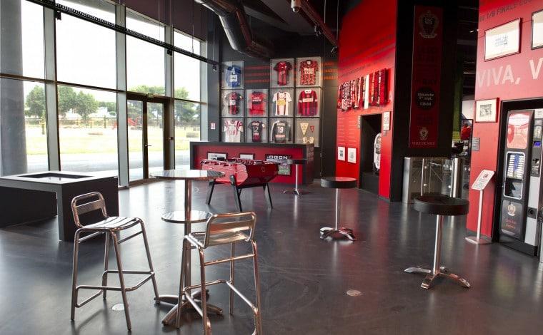 Café des Aiglons OGC Nice au musée national du sport