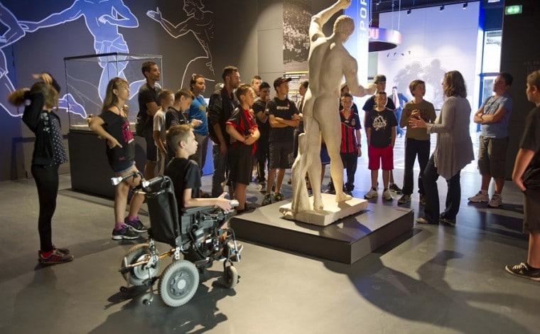 Visite Guidée musée national du sport