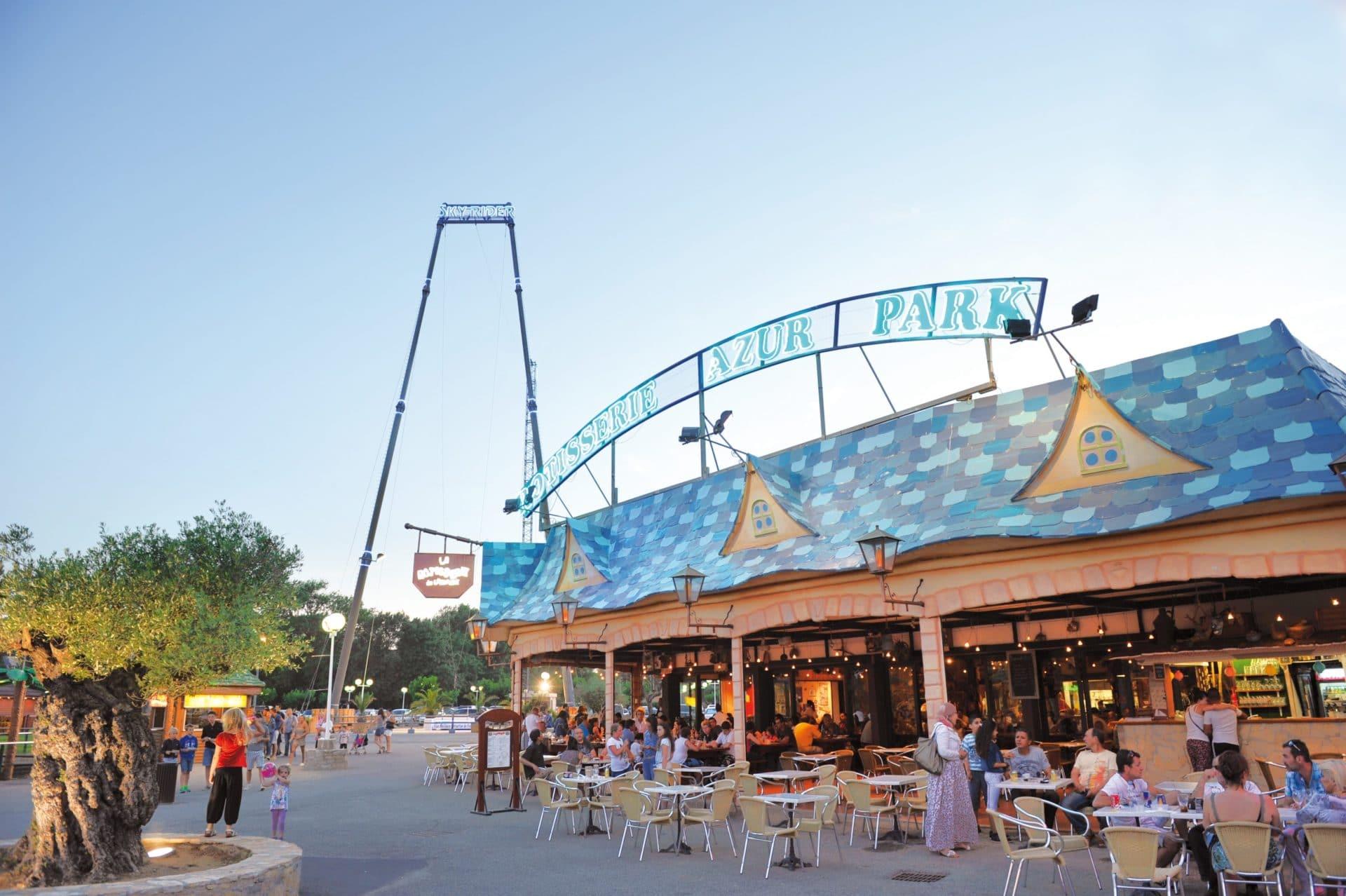 Area catering al Parco Azur