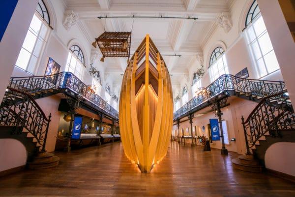 Les espaces insolites du musée