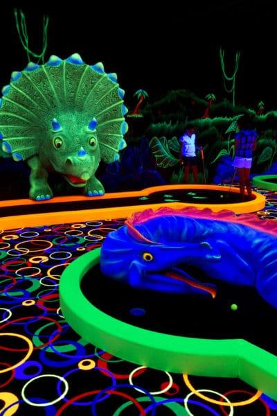 Dinogolf : mini golf pour enfants, Fun City