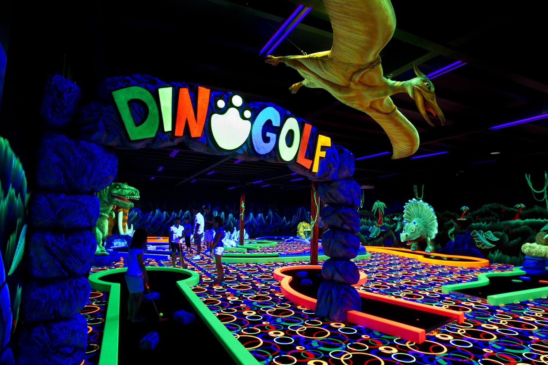 Photo du mini golf de Fun city de Fréjus