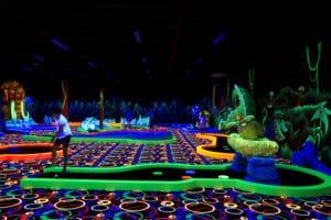 Zones de jeux - Golf Fun City Fréjus