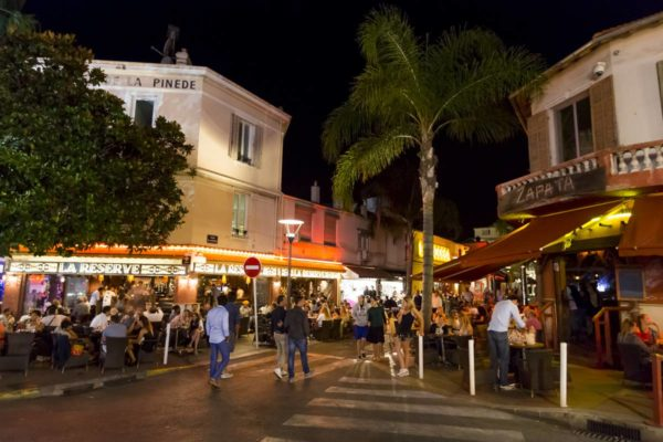 Vie nocturne n°2, Juan les Pins, GILLES LEFRANCQ, office du tourisme et des congrès