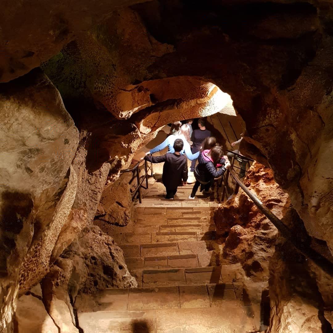Entrance to the cave of Saint Cézaire