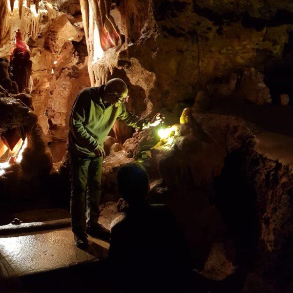 Visit of the Grotto of Saint Cézaire