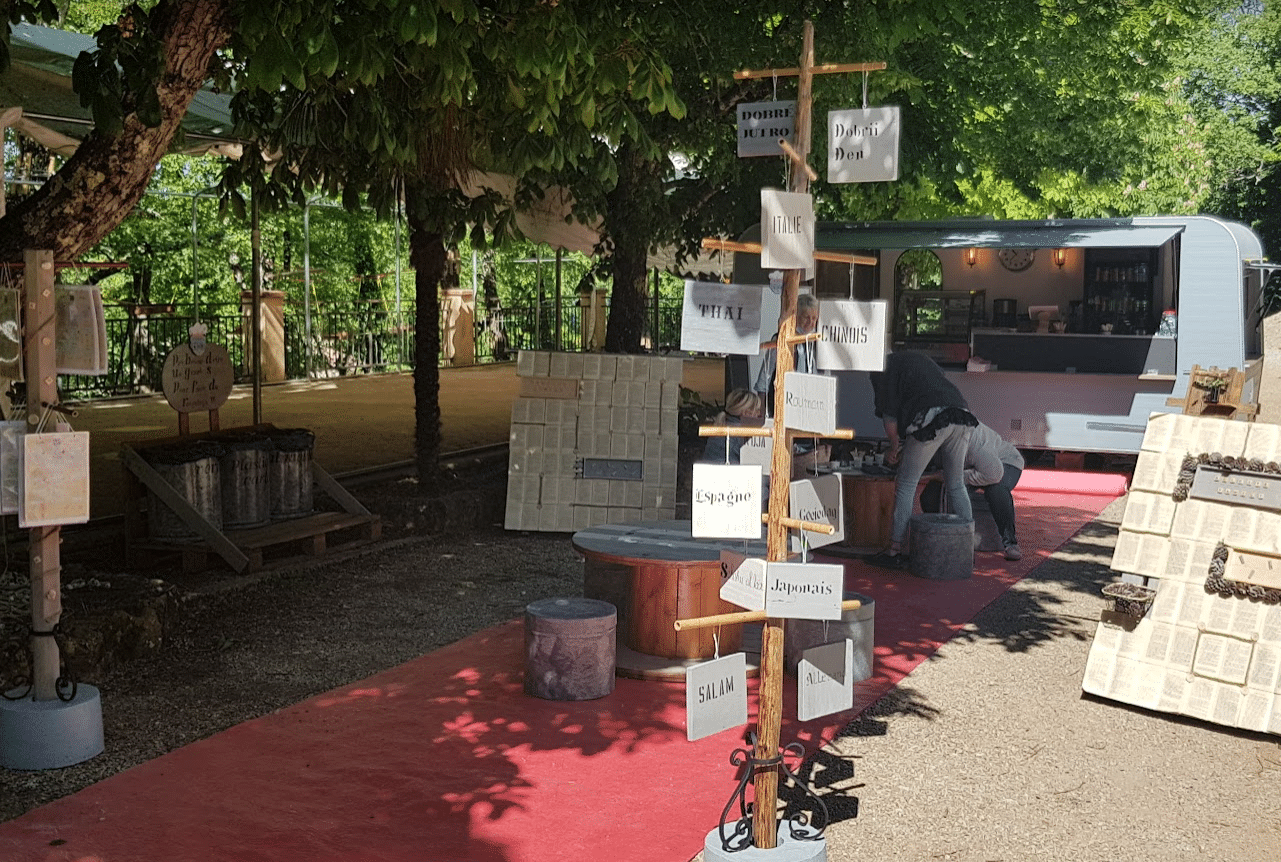 Domaine de la grotte de St cezaire