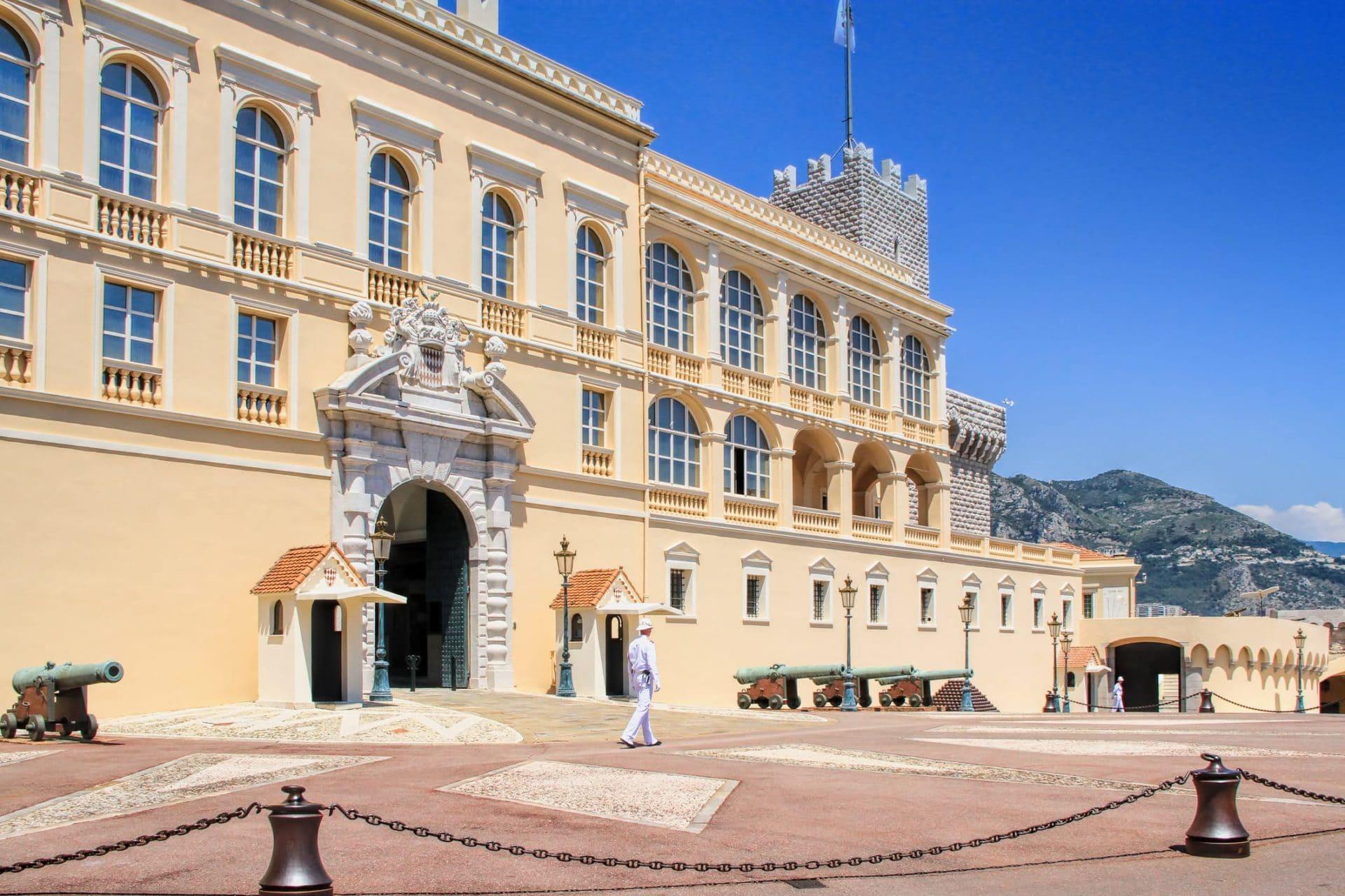 Palais princier de Monaco ce week-end ?