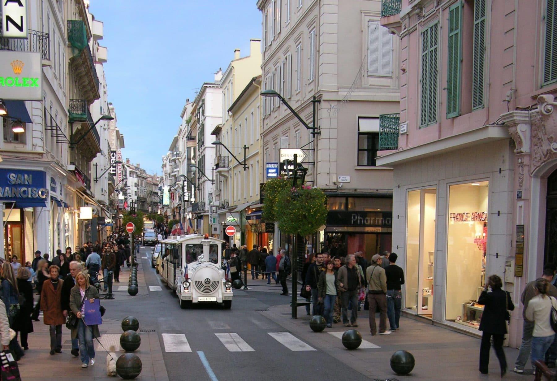Le tour de Cannes avec le petit train