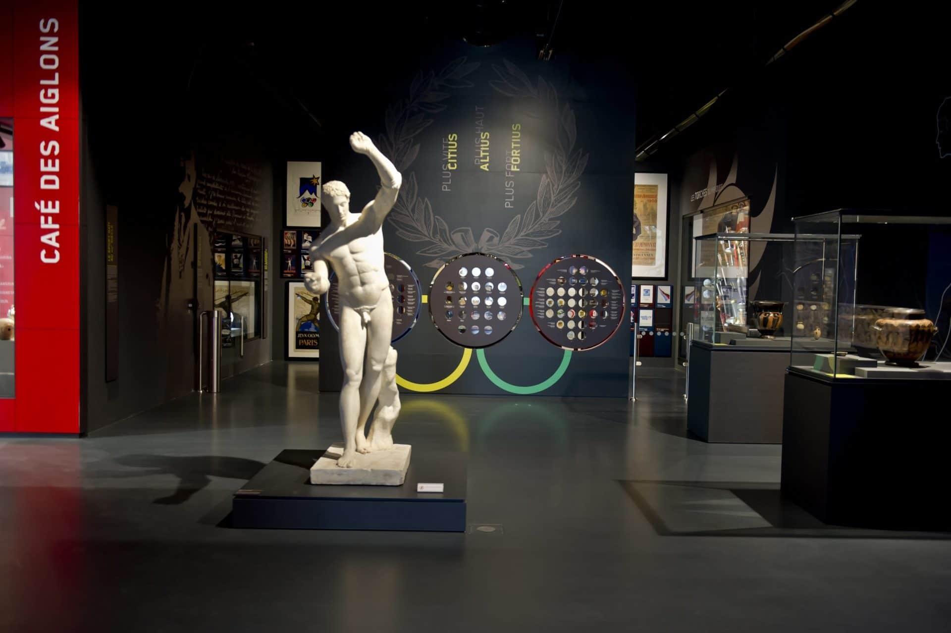 Exposition du musée national du sport