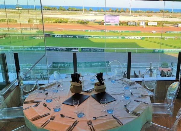 Le restaurant de l'Hippodrome Côte d'Azur