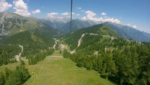 La Tyrolienne de la Colmiane