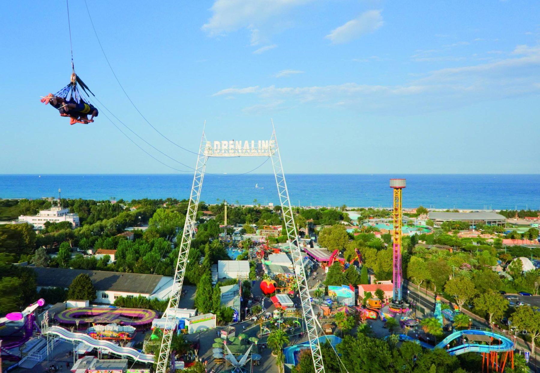 Adrenaline et vue parc, photo Antibes Land