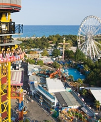 Attractions d'Antibes Land pour les enfants