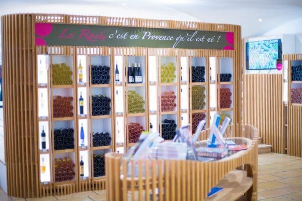 Boutique de la Maison des Vins de Provence