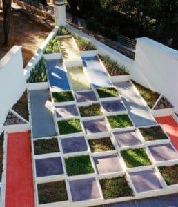 jardins de la villa des Noailles