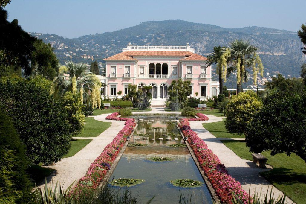 La Villa Ephrussi de Rothschild le matin