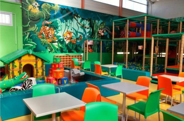 Espace pour enfants à Fun City