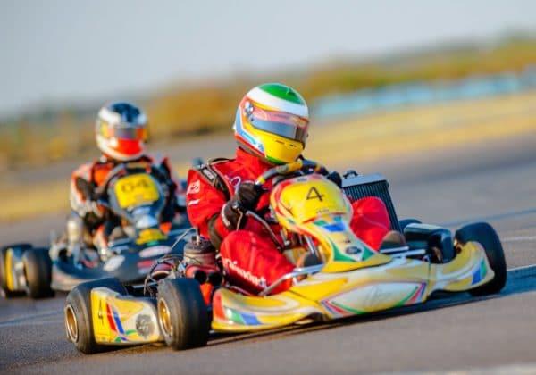 Activités sportive en équipe avec Fun Kart