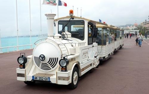 Tournée de Cannes avec le petit train