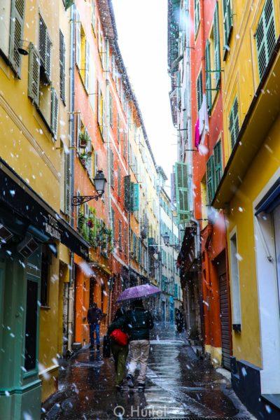 Vieux-Nice à côte de Nicetoile