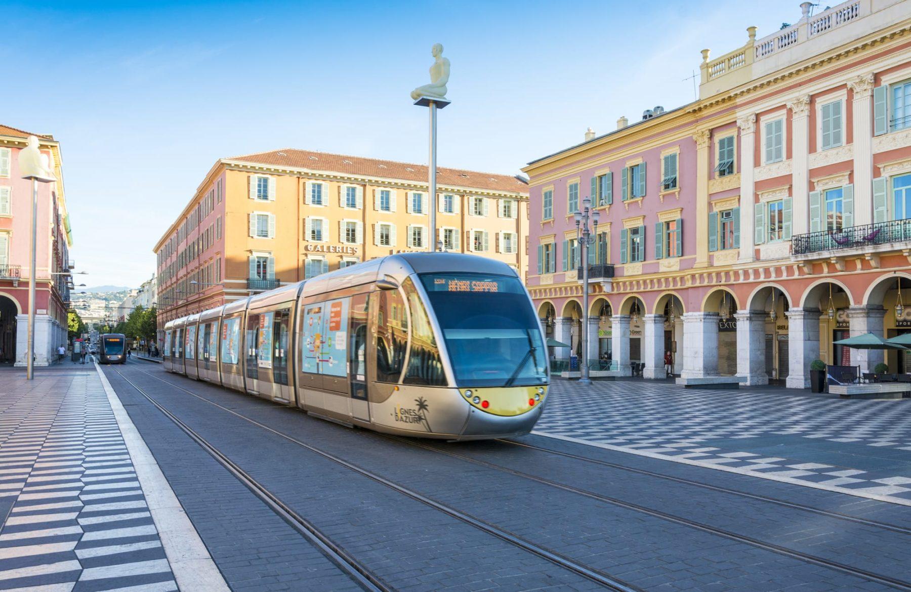 Straßenbahn Régie Lignes d'Azur