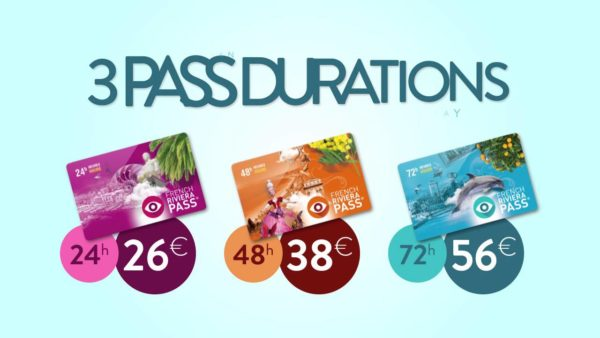 Les trois French Riviera Pass