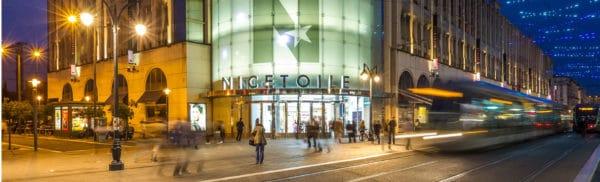Nicetoile, die Einkaufszone