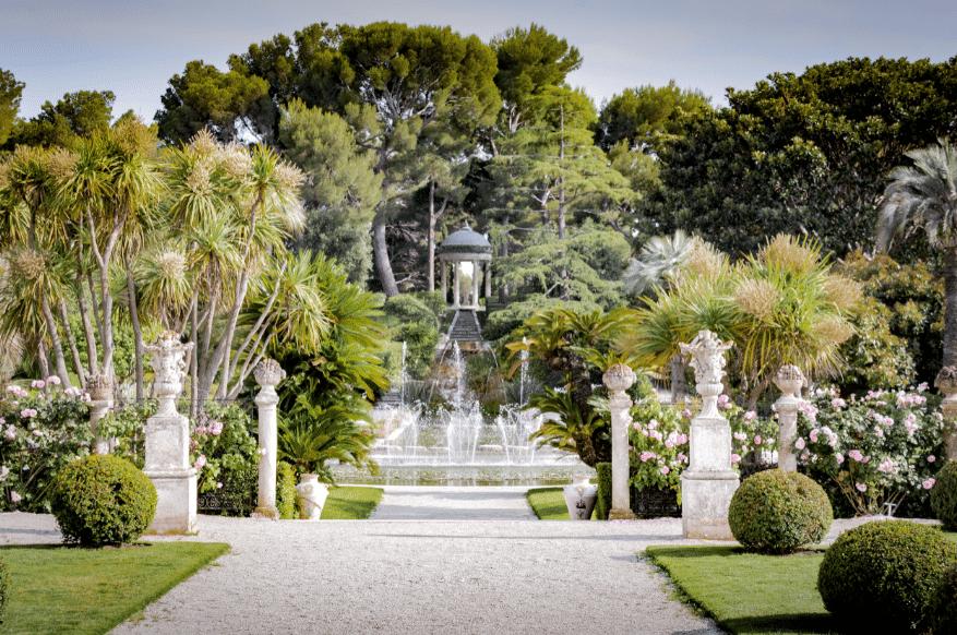 Le jardin à la française La Villa Ephrussi de Rothschild