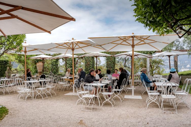 Tarrasse du restaurant de la Villa Ephrussi de Rothschild