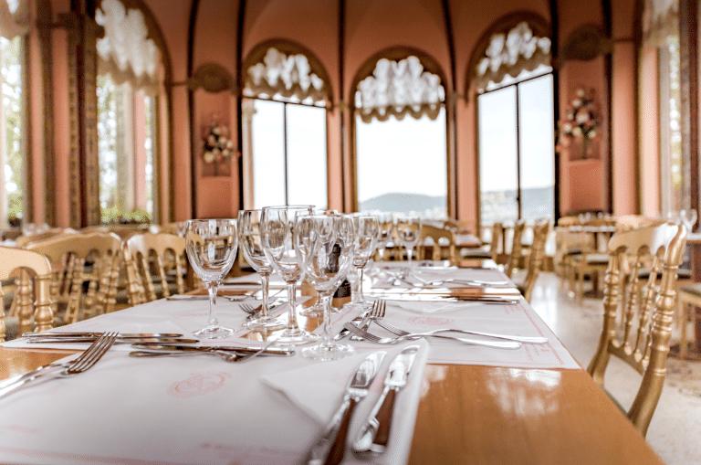 Salle Intérieur du Restauarnt de la Villa Ephrussi de Rothschild