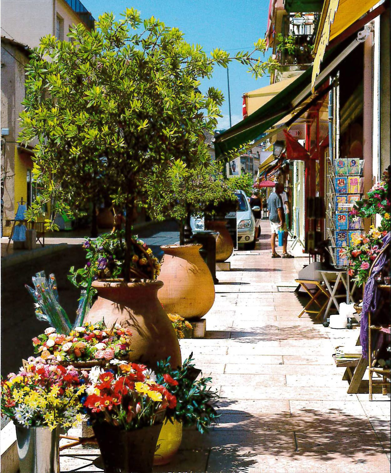 Rue des potiers Vallauris