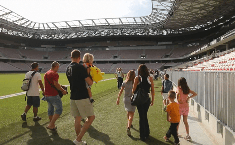 Stade Allianz Riviera à côté du musée national du sport
