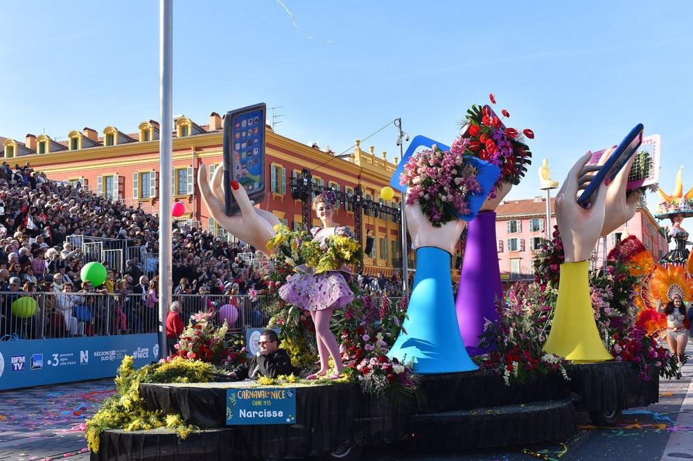 La batalla de las flores