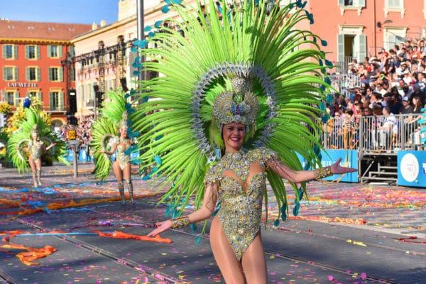 Trajes típicos del Carnaval de Niza