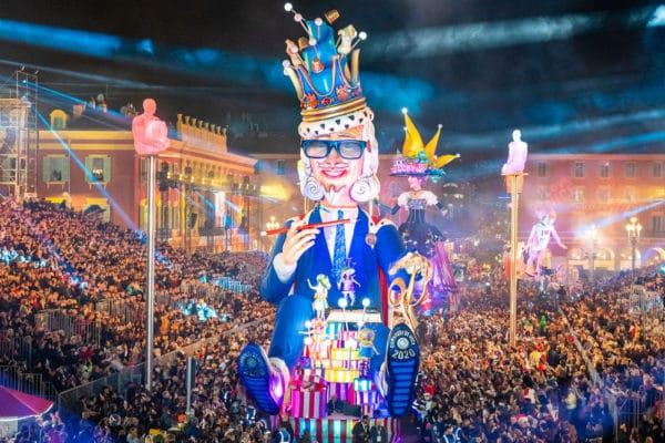 Photo du Roi du Carnaval de Nice