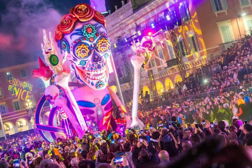 El Carnaval de Niza, Francia