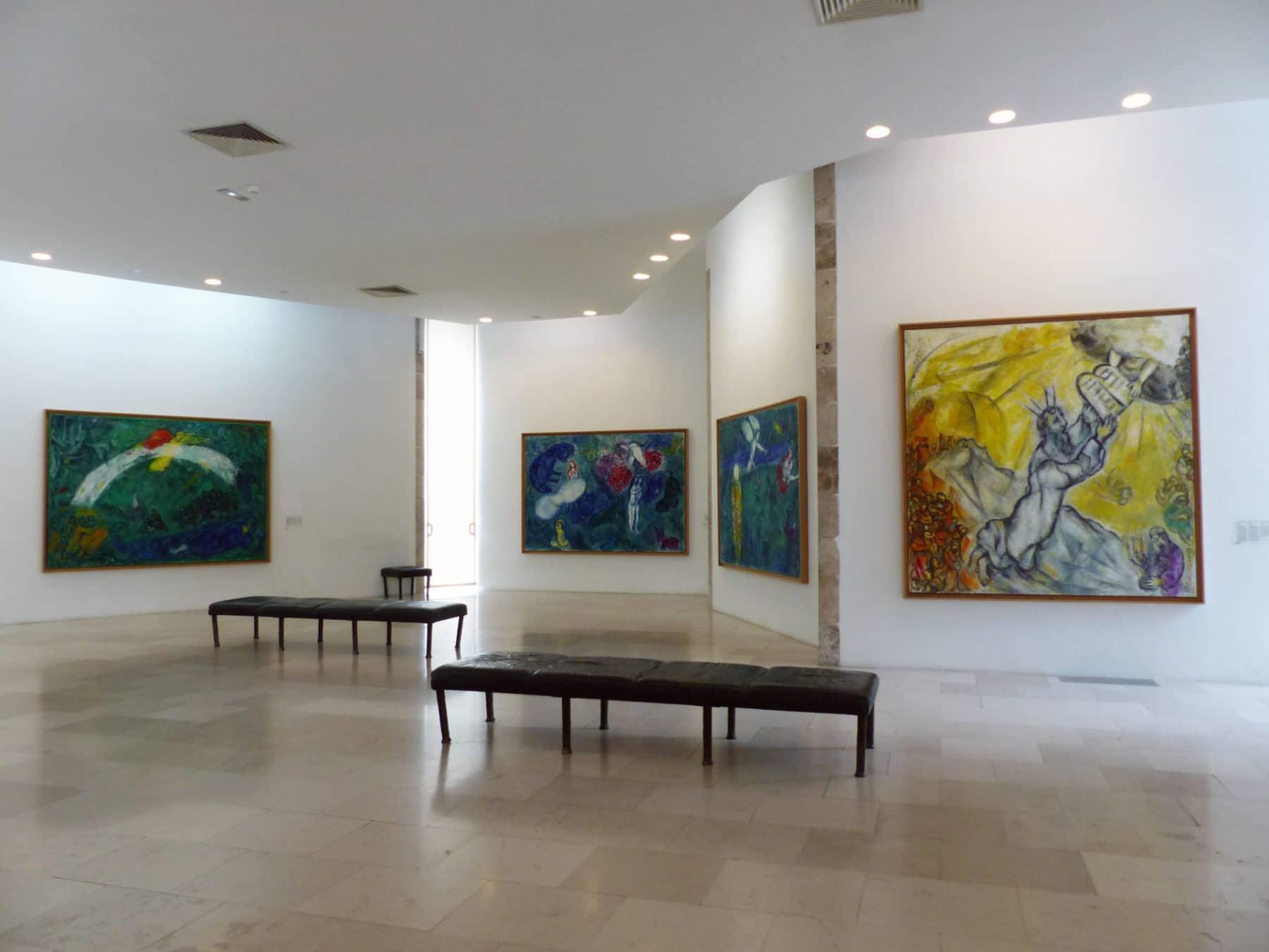 L'intérieur du Musée Marc Chagall de Nice